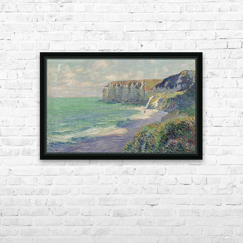 The Cliffs of Saint-Jouin HD Sublimation Metal print with Decorating Float Frame (BOX)