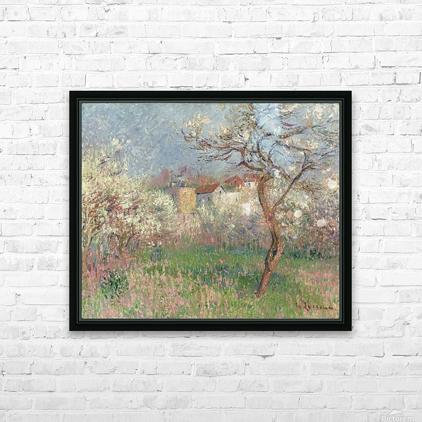 Spring, Outskirts of Pontoise HD Sublimation Metal print with Decorating Float Frame (BOX)
