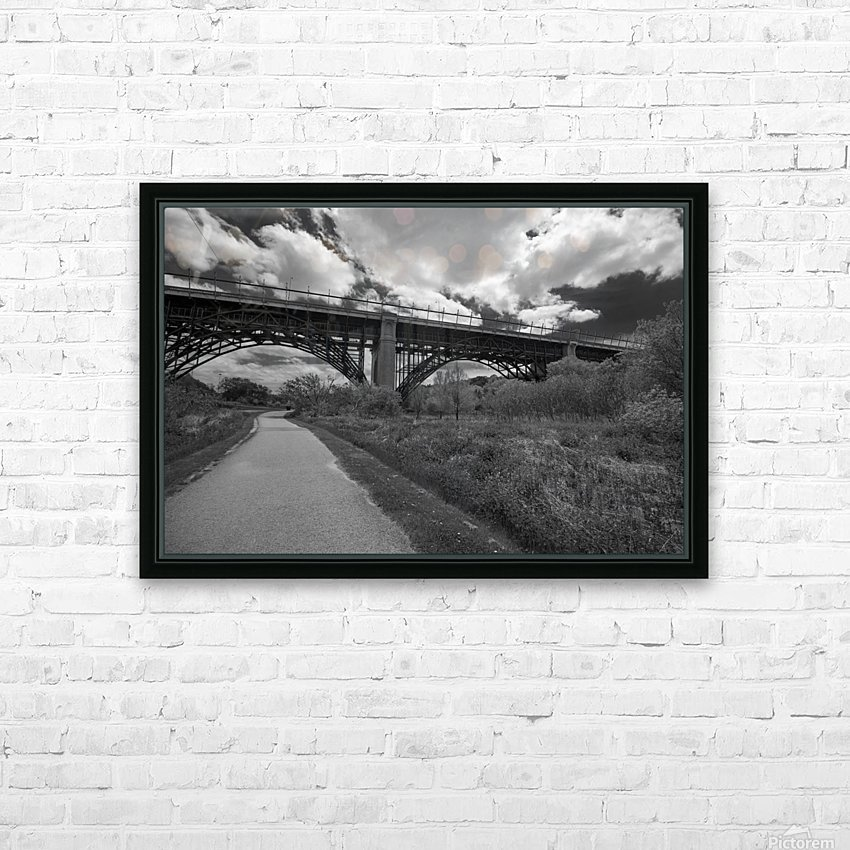 The bridge HD Sublimation Metal print with Decorating Float Frame (BOX)
