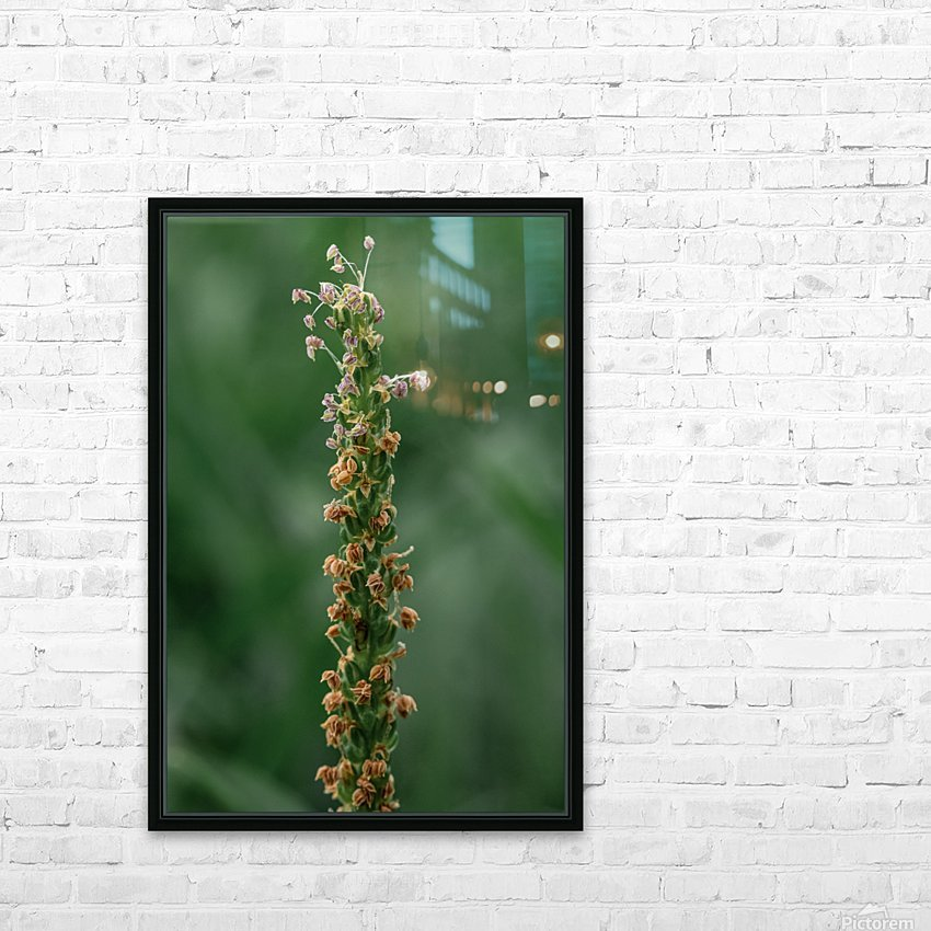 Grass HD Sublimation Metal print with Decorating Float Frame (BOX)