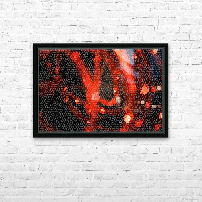 LED lights HD Sublimation Metal print with Decorating Float Frame (BOX)