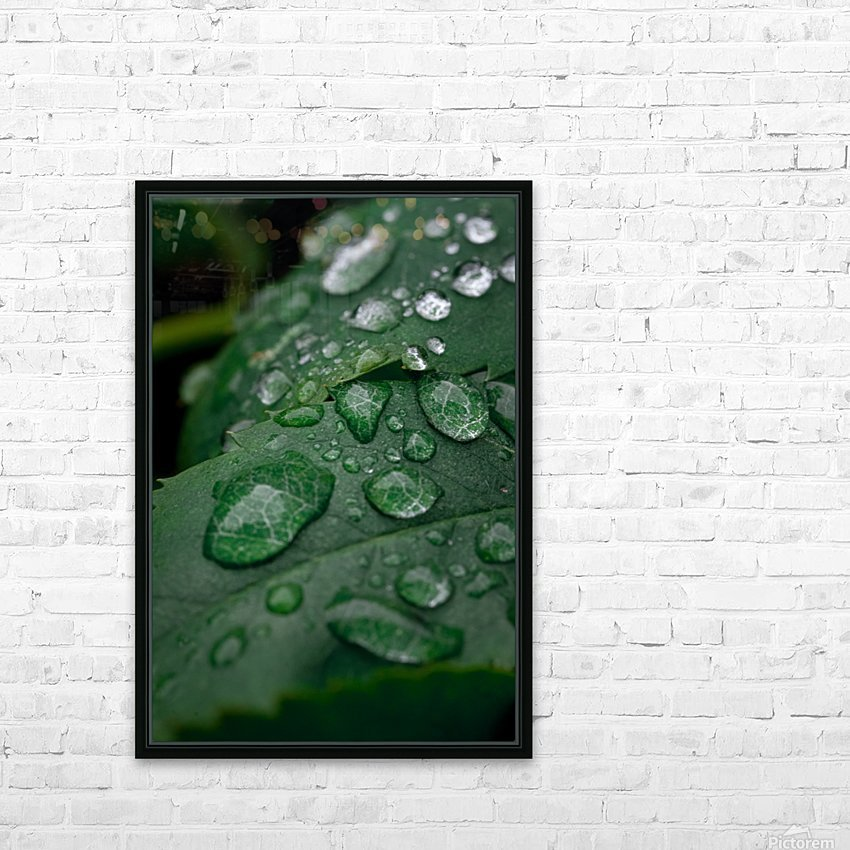 After rain HD Sublimation Metal print with Decorating Float Frame (BOX)