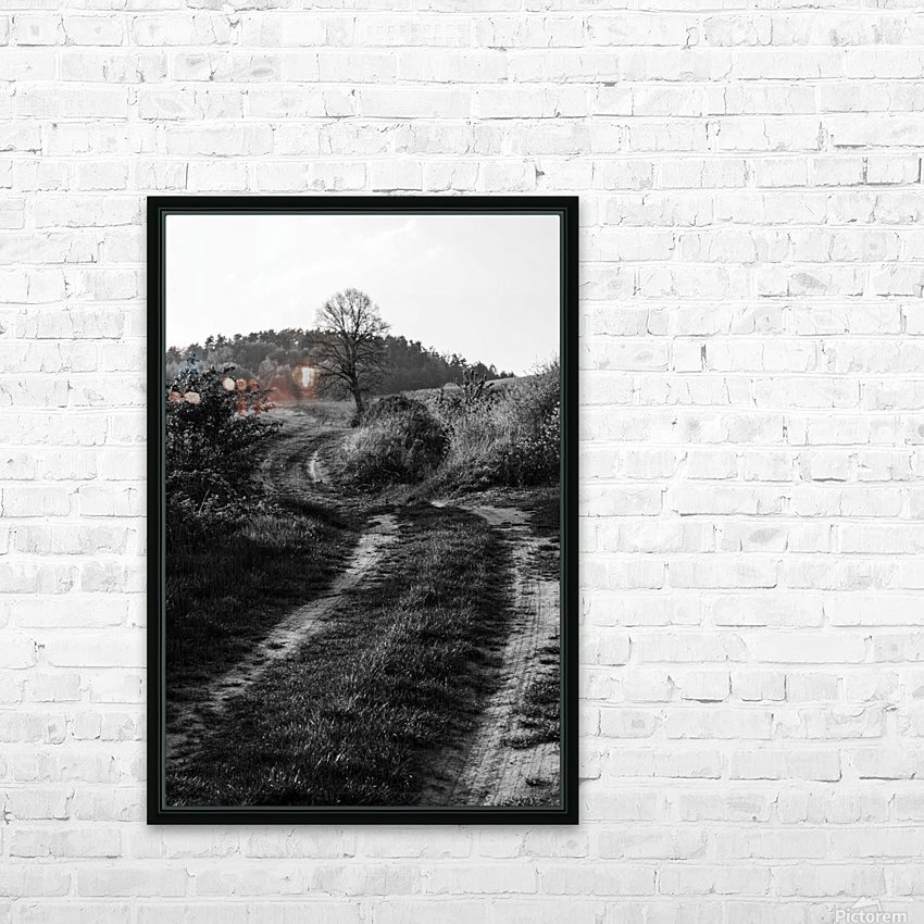 The path HD Sublimation Metal print with Decorating Float Frame (BOX)