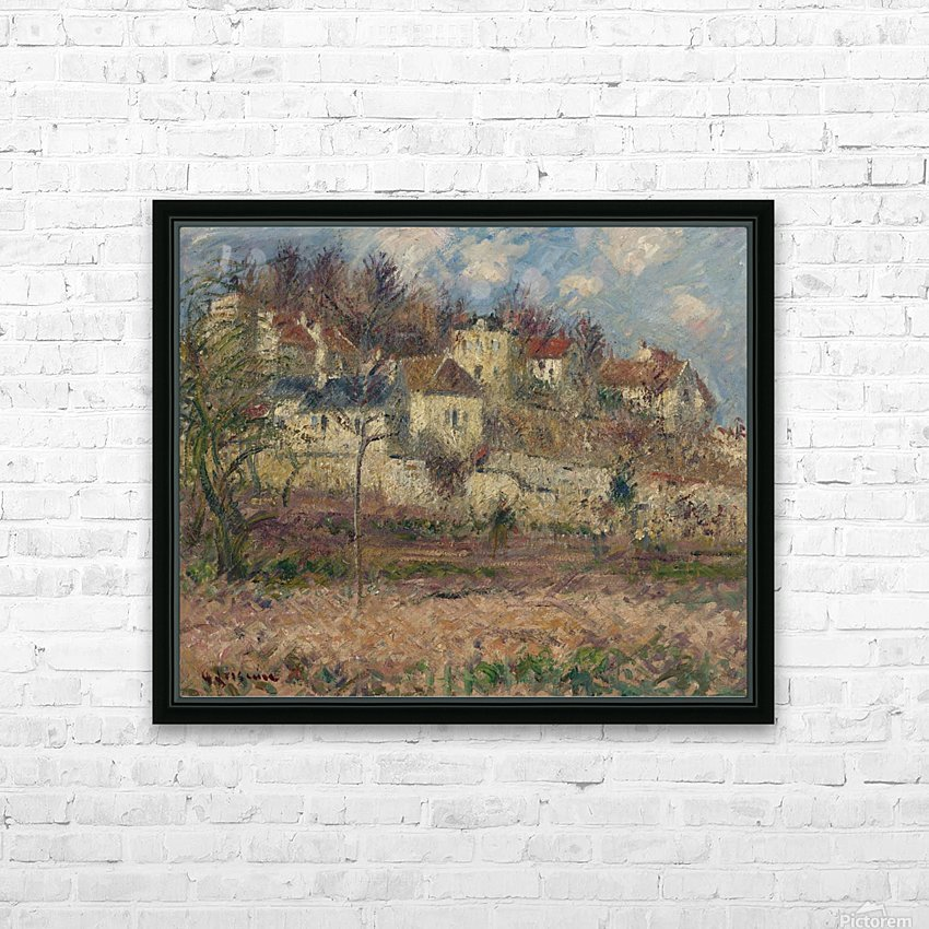 Moret-sur-Loing 02 HD Sublimation Metal print with Decorating Float Frame (BOX)