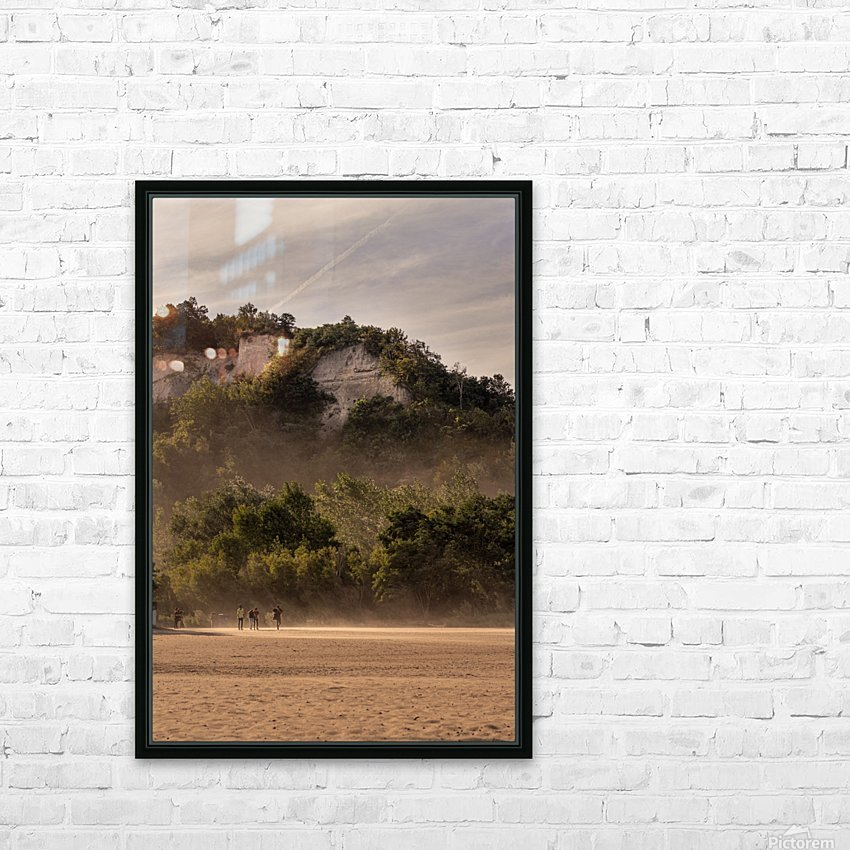 Hot day at the Bluffs HD Sublimation Metal print with Decorating Float Frame (BOX)