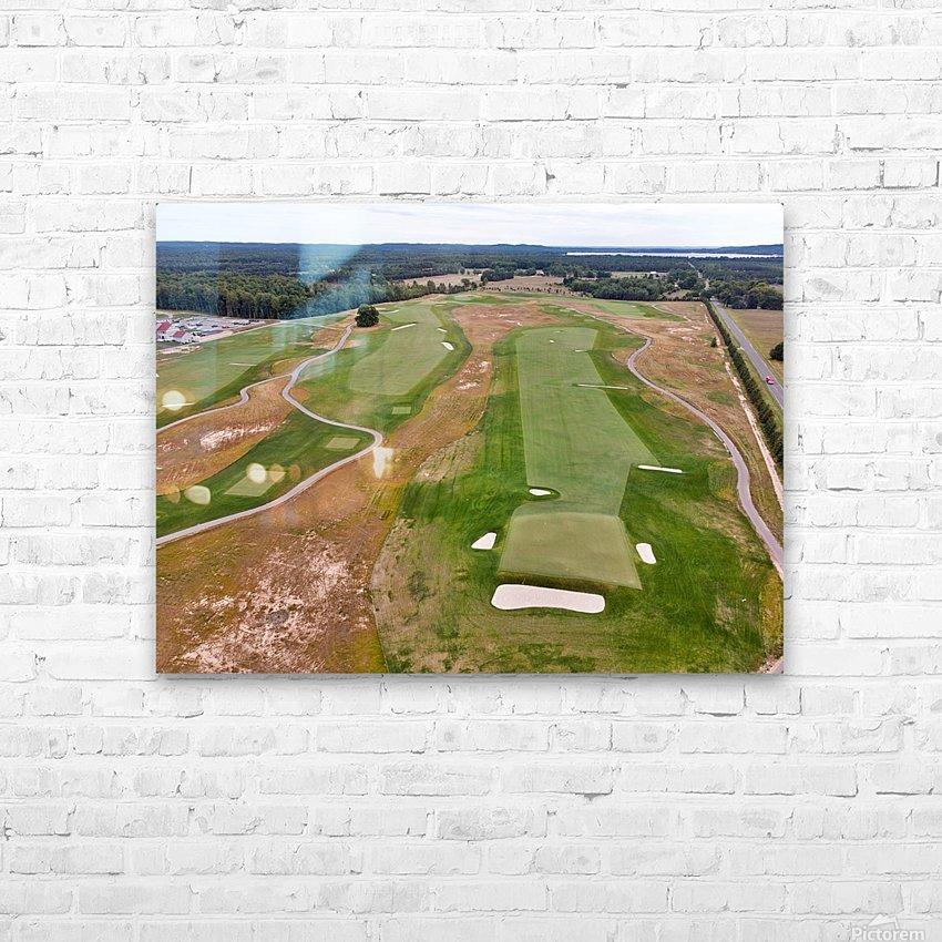 Arcadia Bluffs South Course back nine Par 5s HD Sublimation Metal print with Decorating Float Frame (BOX)