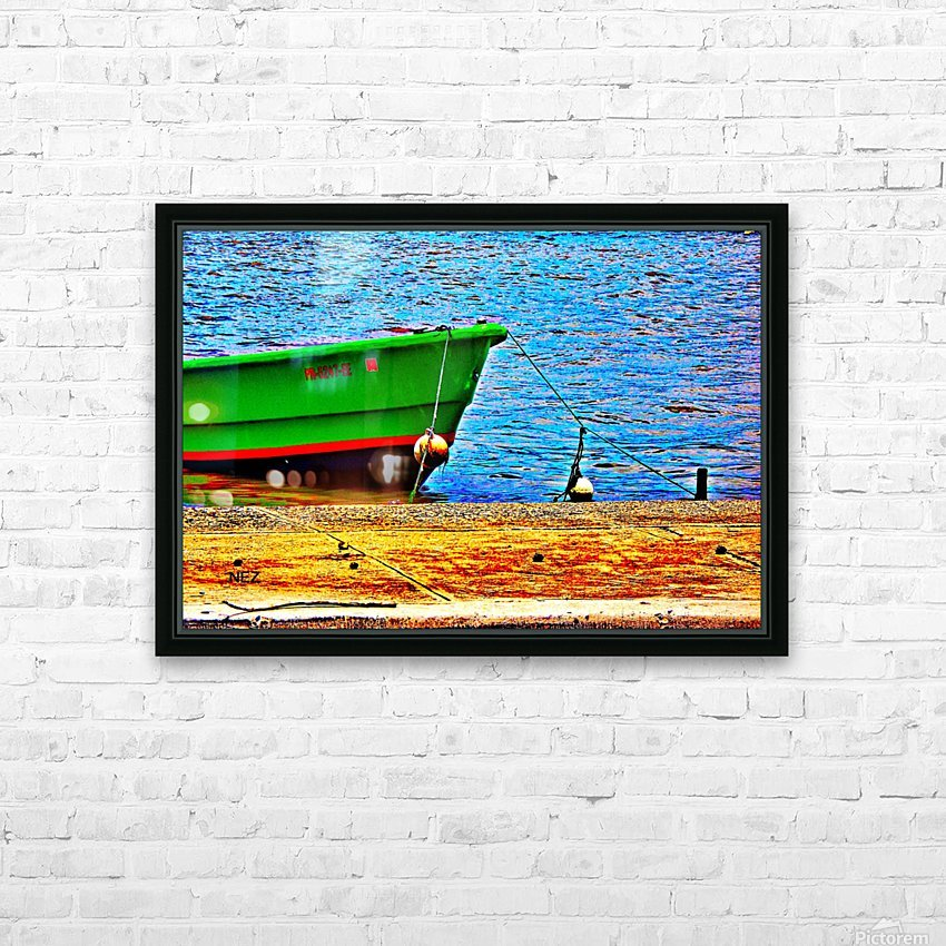 Blue Waters HD Sublimation Metal print with Decorating Float Frame (BOX)