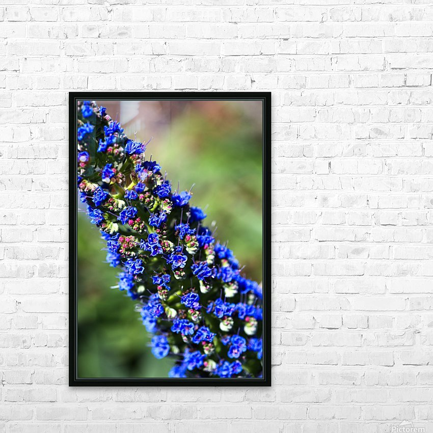 Veronica Flower Of  Spring HD Sublimation Metal print with Decorating Float Frame (BOX)