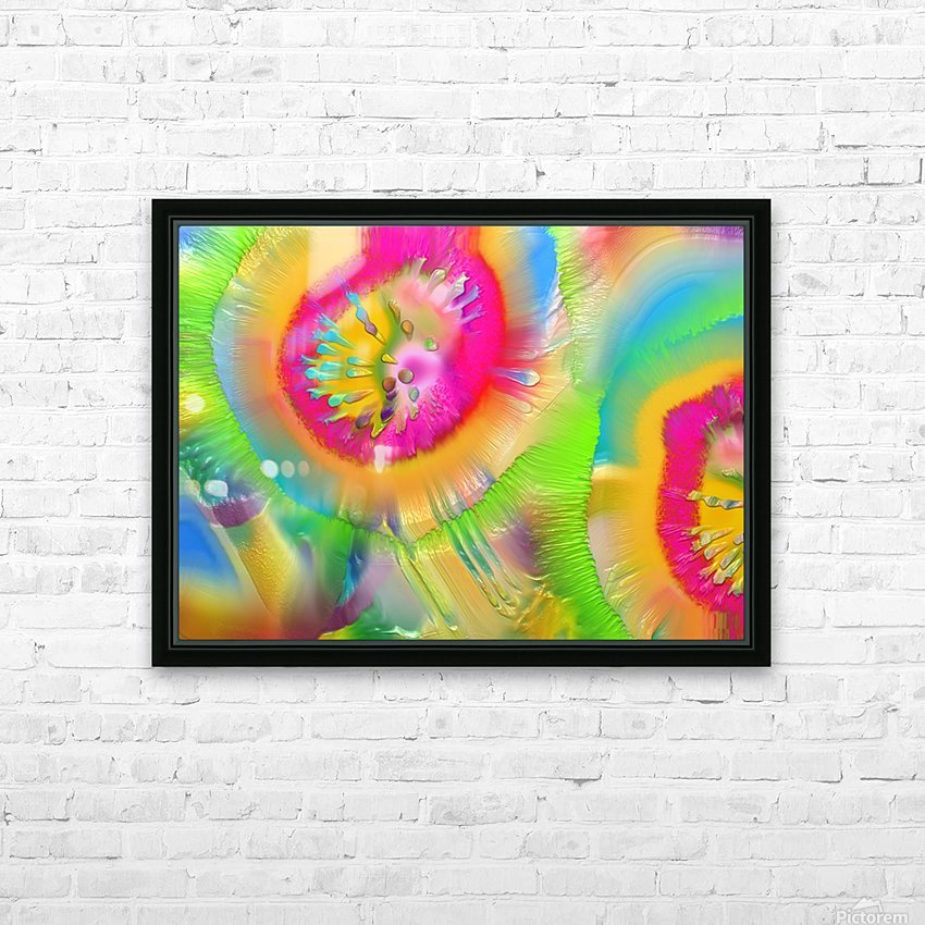 105 HD Sublimation Metal print with Decorating Float Frame (BOX)