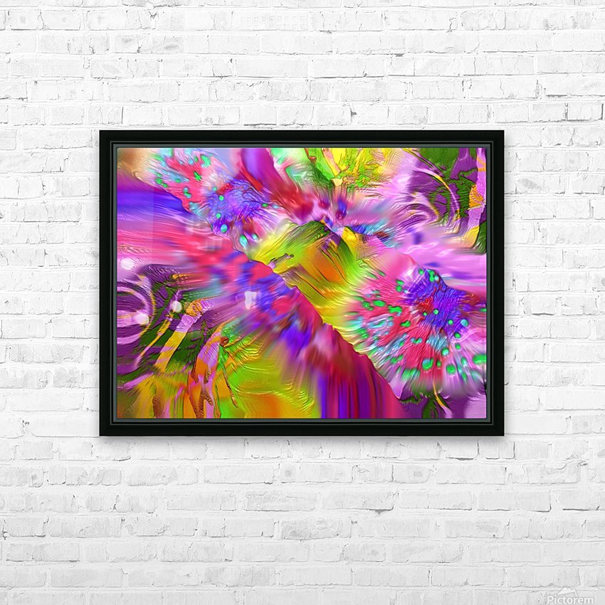 131 HD Sublimation Metal print with Decorating Float Frame (BOX)