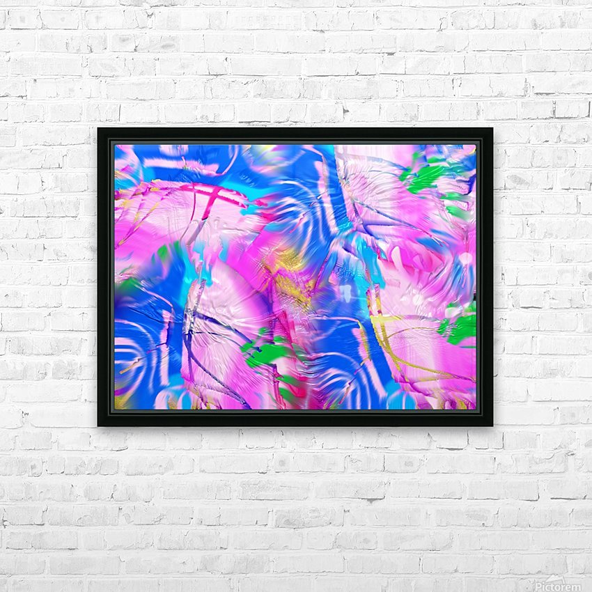 159 HD Sublimation Metal print with Decorating Float Frame (BOX)
