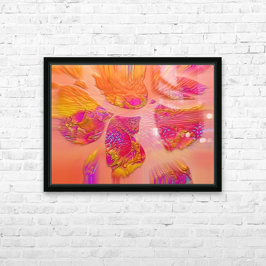 15 HD Sublimation Metal print with Decorating Float Frame (BOX)