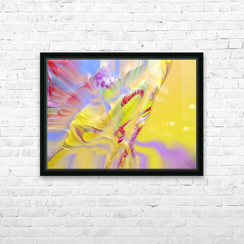 18 HD Sublimation Metal print with Decorating Float Frame (BOX)