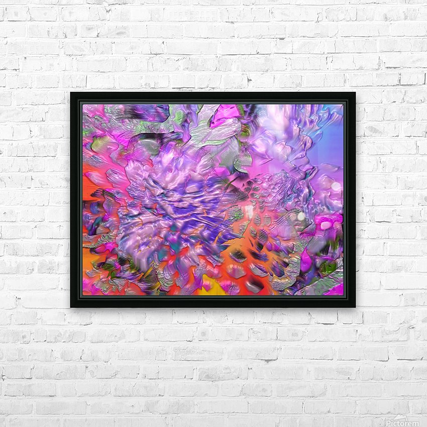 37 HD Sublimation Metal print with Decorating Float Frame (BOX)