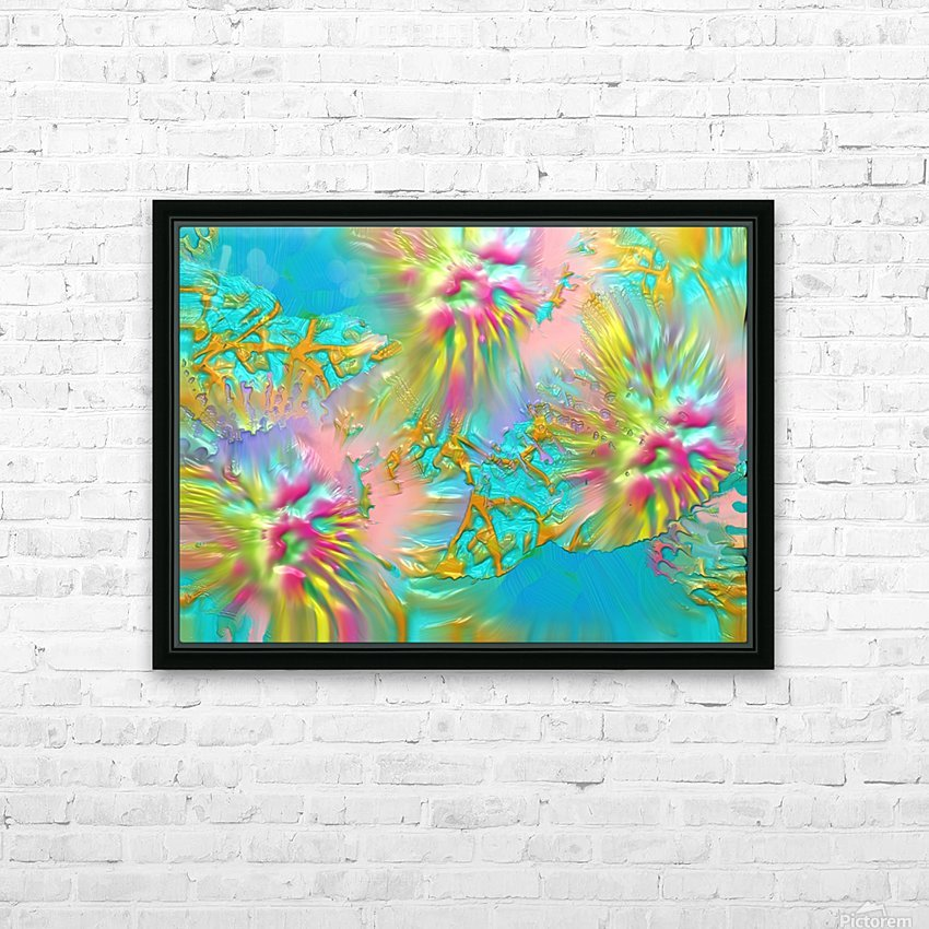 154 HD Sublimation Metal print with Decorating Float Frame (BOX)