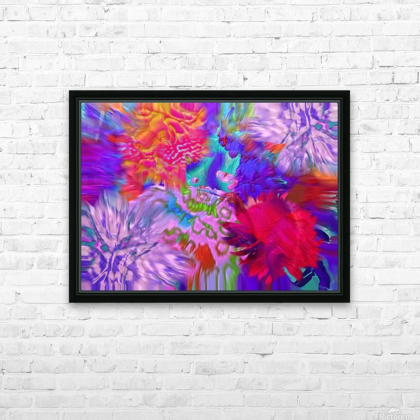 175 HD Sublimation Metal print with Decorating Float Frame (BOX)