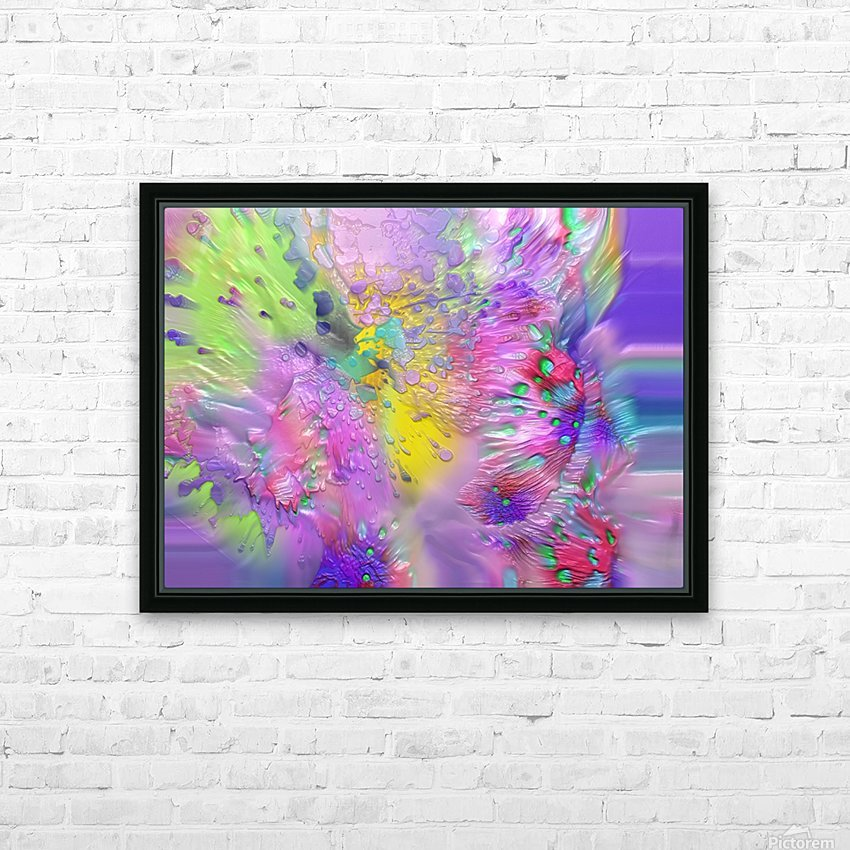 189 HD Sublimation Metal print with Decorating Float Frame (BOX)