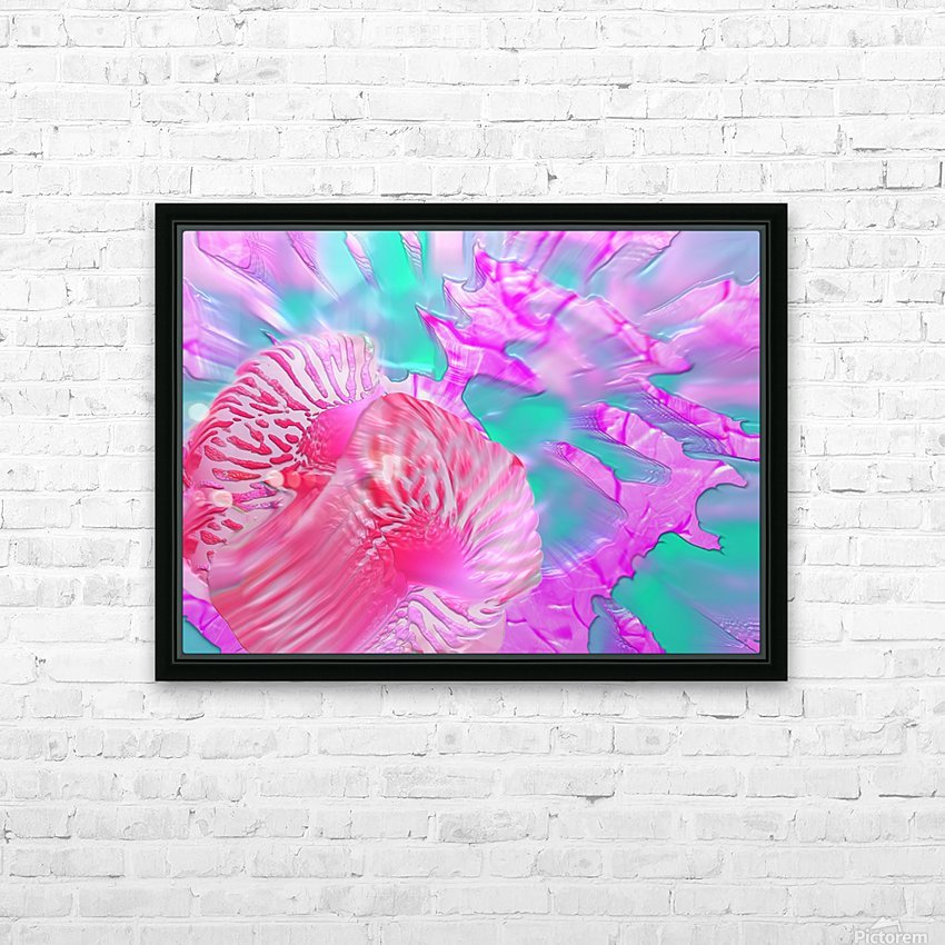 204 HD Sublimation Metal print with Decorating Float Frame (BOX)