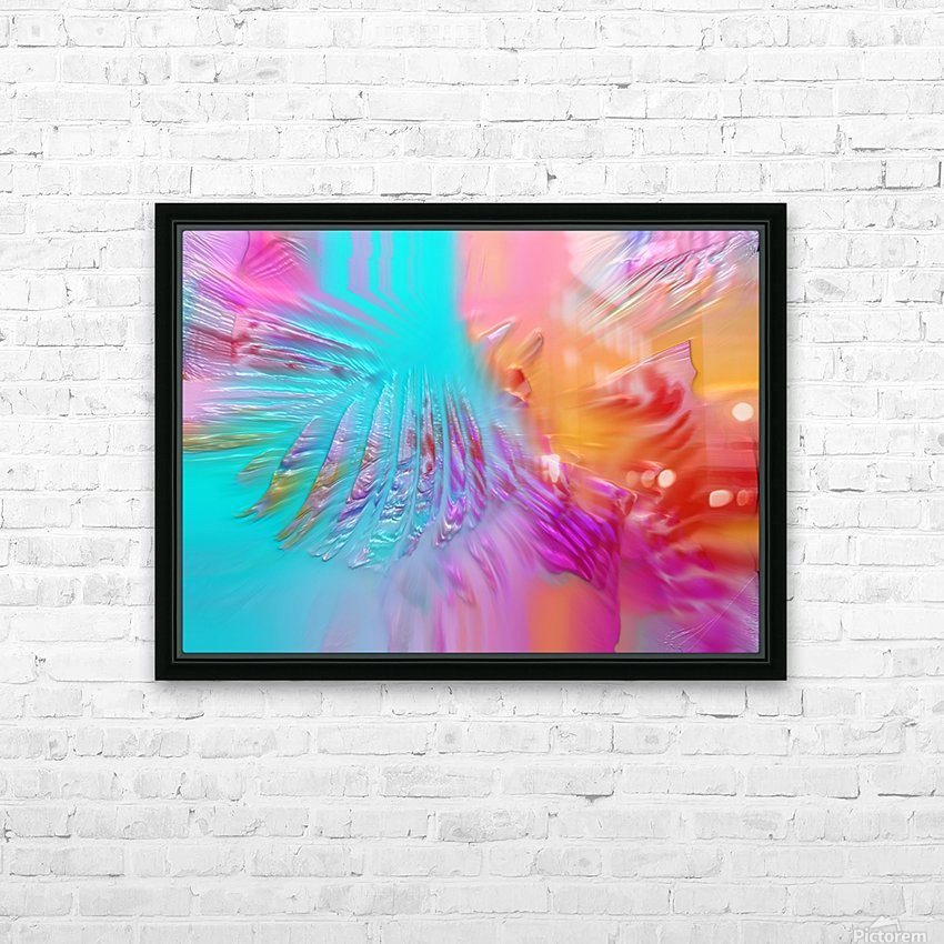 287 HD Sublimation Metal print with Decorating Float Frame (BOX)