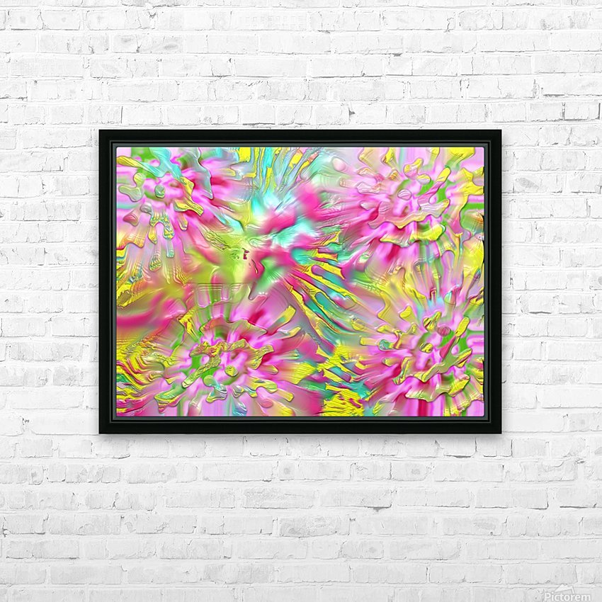 804 HD Sublimation Metal print with Decorating Float Frame (BOX)