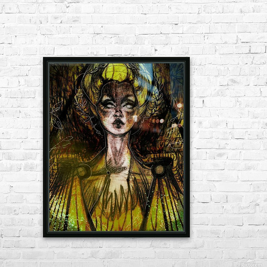 LA REVANCHE | 1 HD Sublimation Metal print with Decorating Float Frame (BOX)