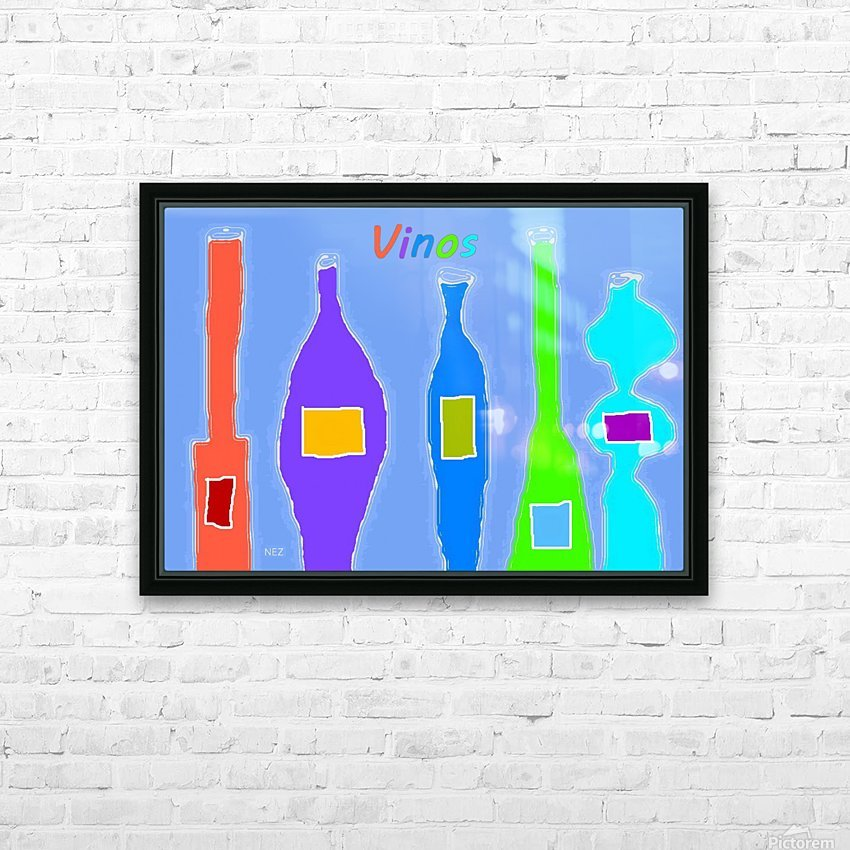 Vinos HD Sublimation Metal print with Decorating Float Frame (BOX)