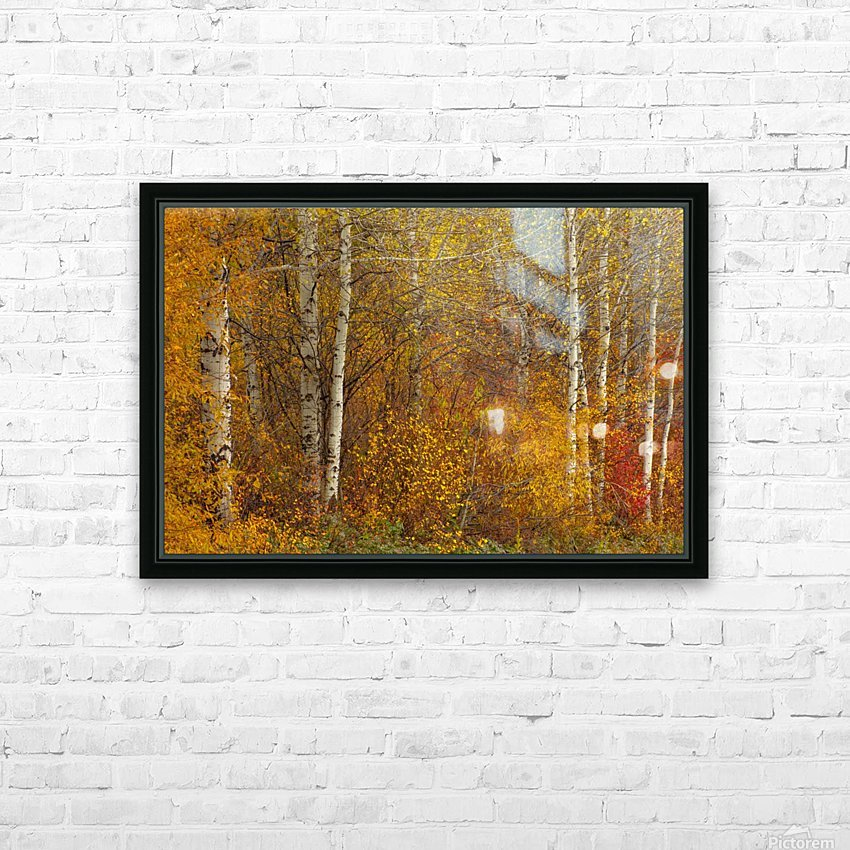 Oil Painting HD Sublimation Metal print with Decorating Float Frame (BOX)