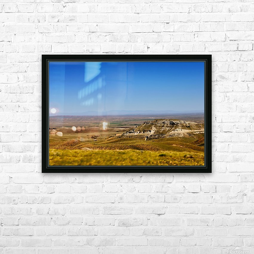 Scenic Canyon HD Sublimation Metal print with Decorating Float Frame (BOX)