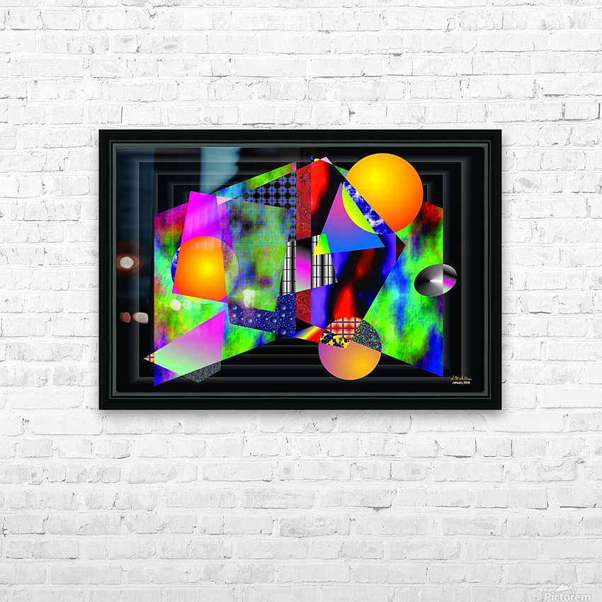 1-Intersections HD Sublimation Metal print with Decorating Float Frame (BOX)