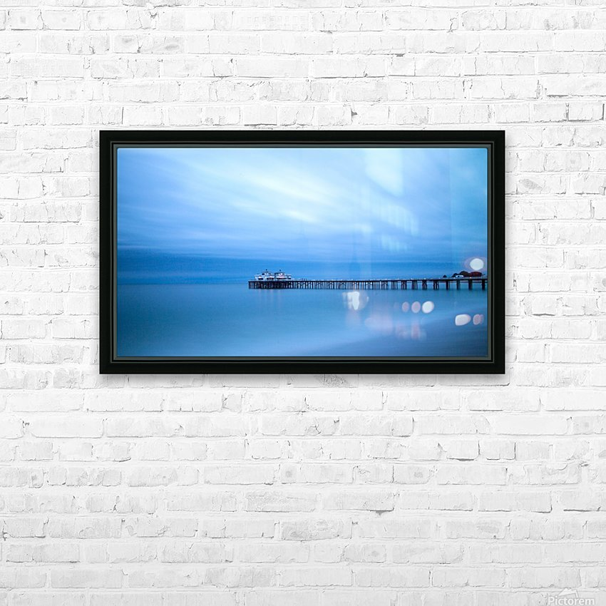 Frozen HD Sublimation Metal print with Decorating Float Frame (BOX)