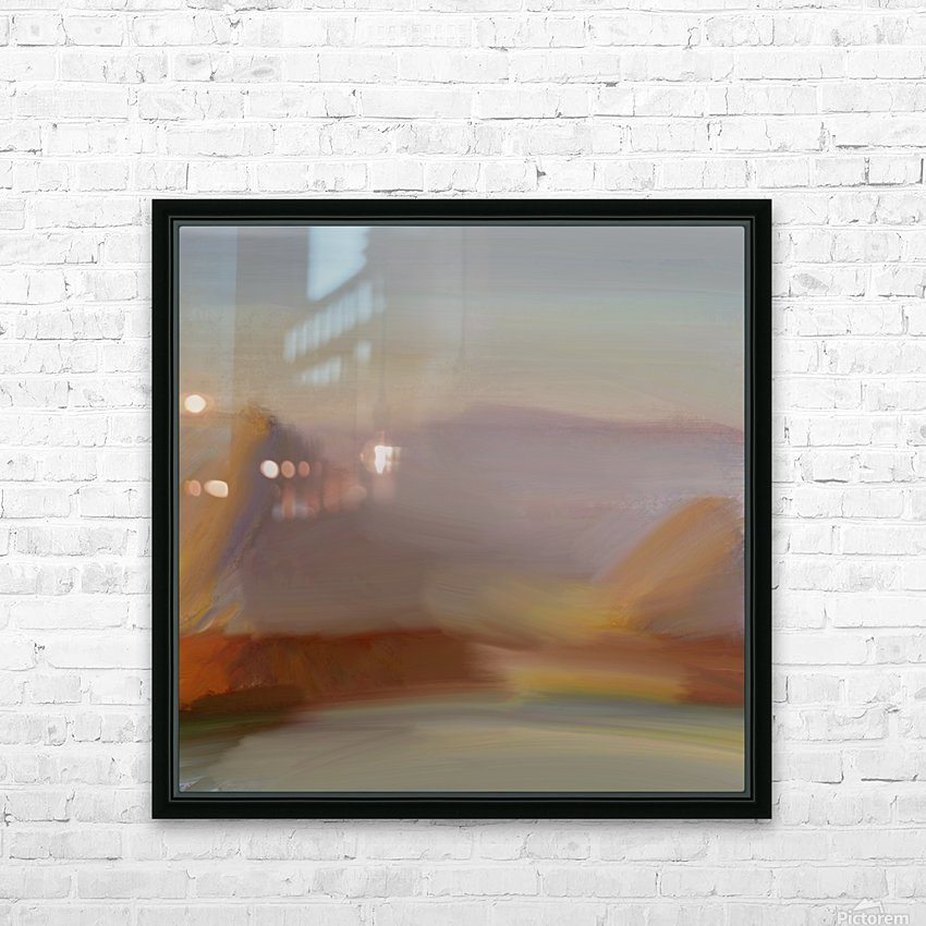 Monet I spiration HD Sublimation Metal print with Decorating Float Frame (BOX)