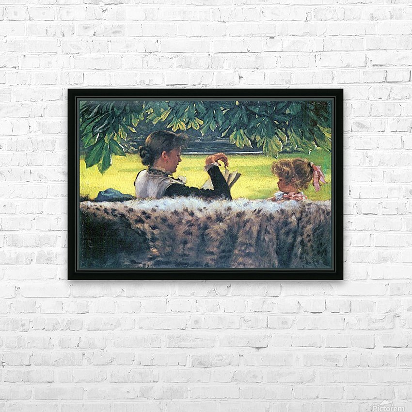 A story read by Tissot HD Sublimation Metal print with Decorating Float Frame (BOX)