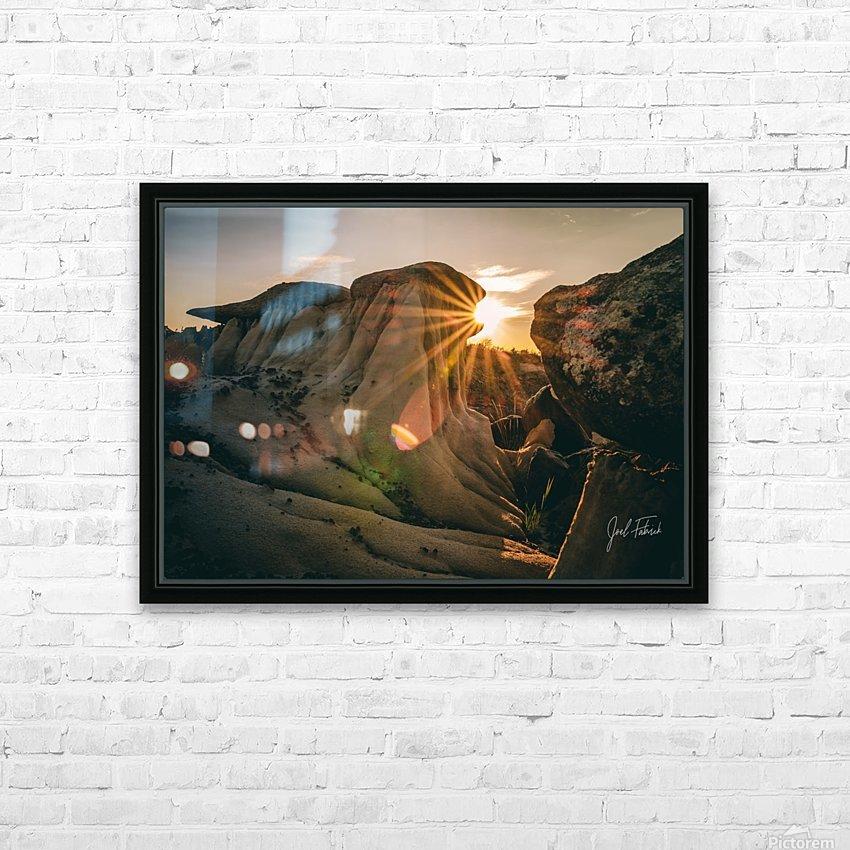 DPP Hoodoo Sunburst HD Sublimation Metal print with Decorating Float Frame (BOX)
