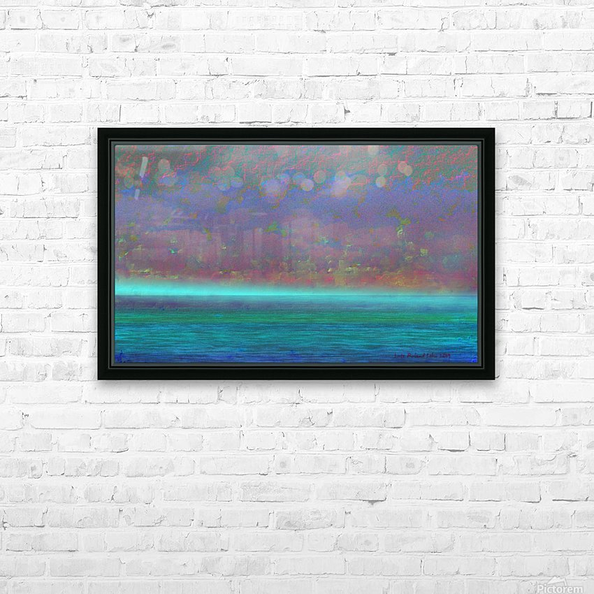 Mare HD Sublimation Metal print with Decorating Float Frame (BOX)