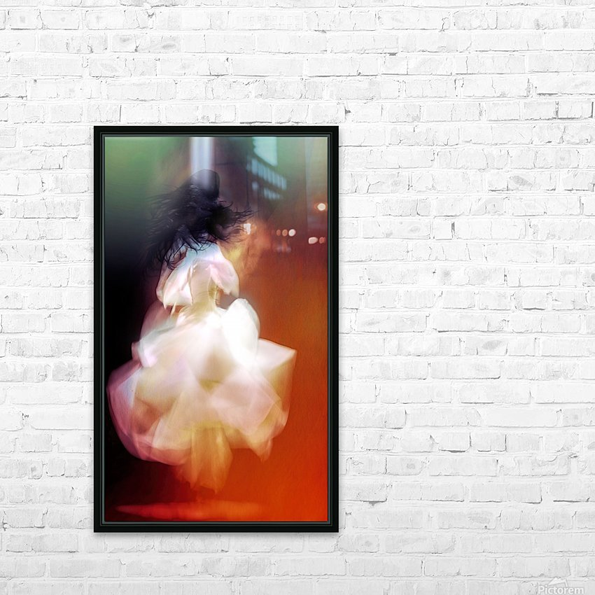 The Dance HD Sublimation Metal print with Decorating Float Frame (BOX)
