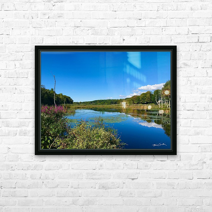 WarrenPond HD Sublimation Metal print with Decorating Float Frame (BOX)