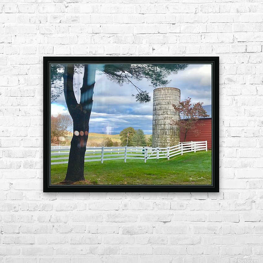 GranbySilo HD Sublimation Metal print with Decorating Float Frame (BOX)