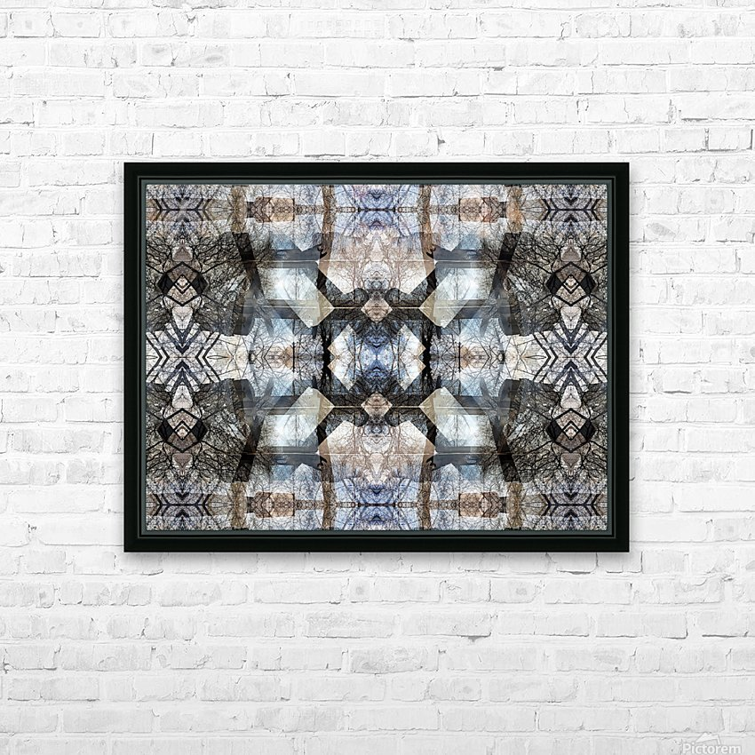 A.P.Polo - Lao Tse 1984_18.Zyklus 2.Epoche  HD Sublimation Metal print with Decorating Float Frame (BOX)