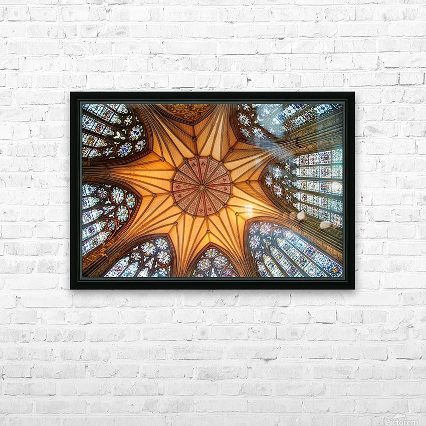 Religious Ceiling HD Sublimation Metal print with Decorating Float Frame (BOX)