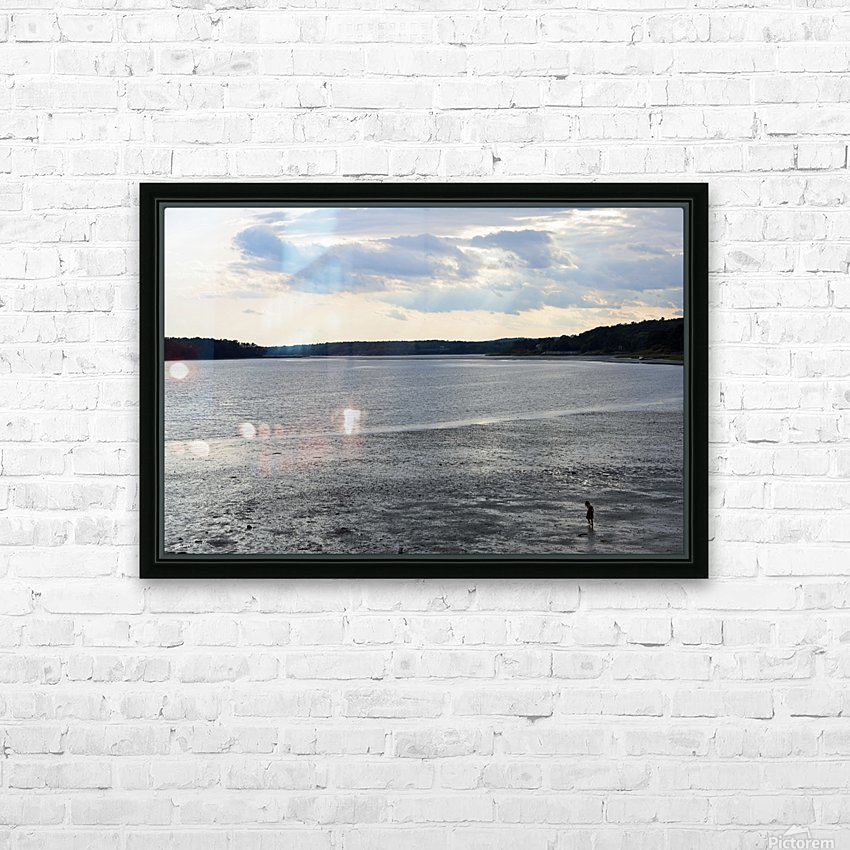 Oceans Wonder HD Sublimation Metal print with Decorating Float Frame (BOX)