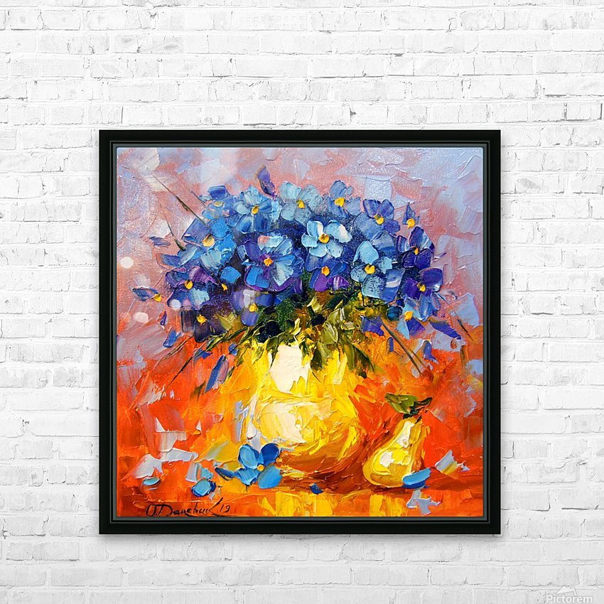 Still life  HD Sublimation Metal print with Decorating Float Frame (BOX)