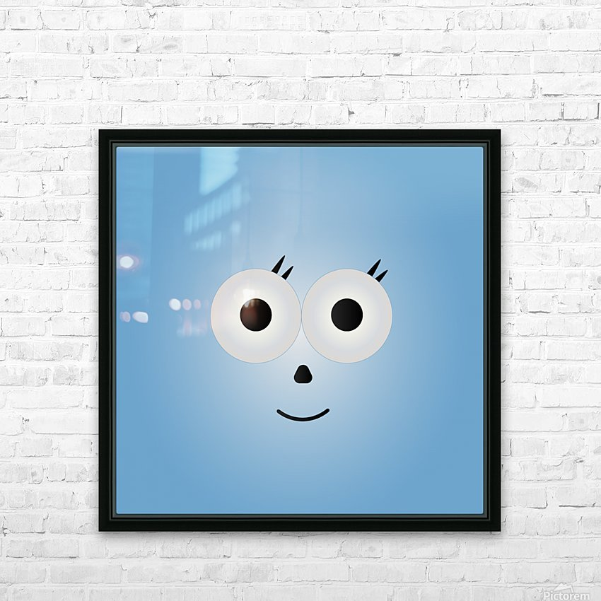 Simply Cutie  HD Sublimation Metal print with Decorating Float Frame (BOX)