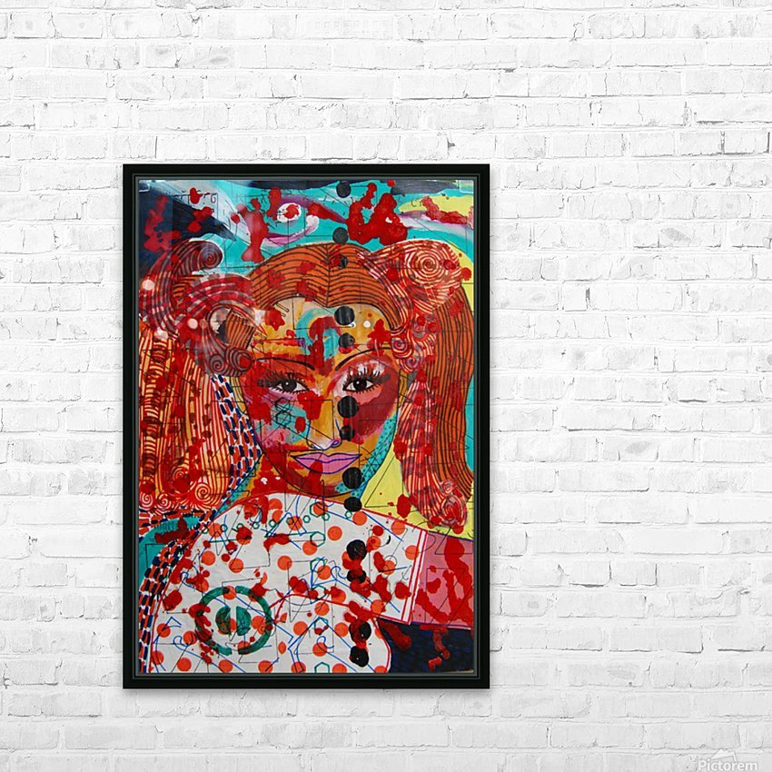 PAINTING130 HD Sublimation Metal print with Decorating Float Frame (BOX)