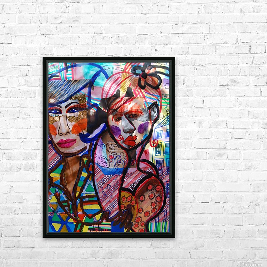 PAINTING99 HD Sublimation Metal print with Decorating Float Frame (BOX)