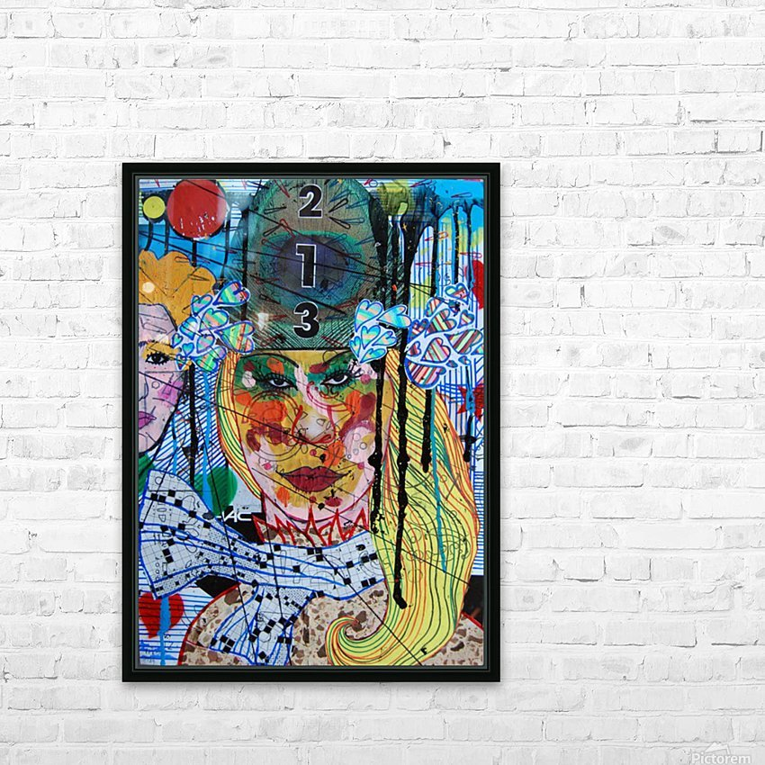 PAINTING136 HD Sublimation Metal print with Decorating Float Frame (BOX)