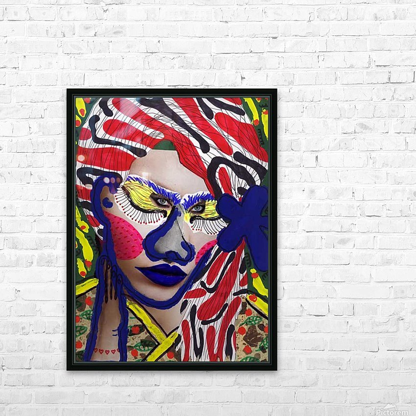 PAINTING72 HD Sublimation Metal print with Decorating Float Frame (BOX)