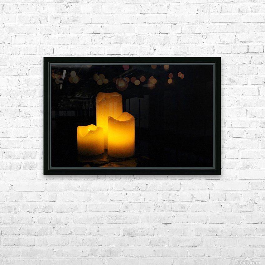 Light in the Dark HD Sublimation Metal print with Decorating Float Frame (BOX)