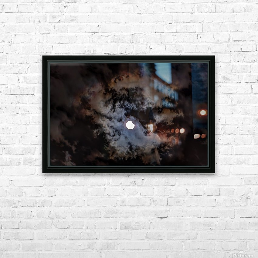 2017 Eclispe HD Sublimation Metal print with Decorating Float Frame (BOX)
