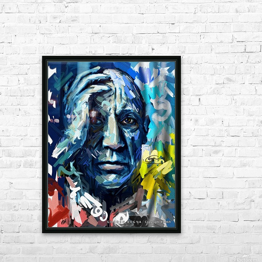 picasso HD Sublimation Metal print with Decorating Float Frame (BOX)