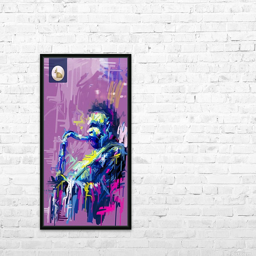 Untitled 6 HD Sublimation Metal print with Decorating Float Frame (BOX)